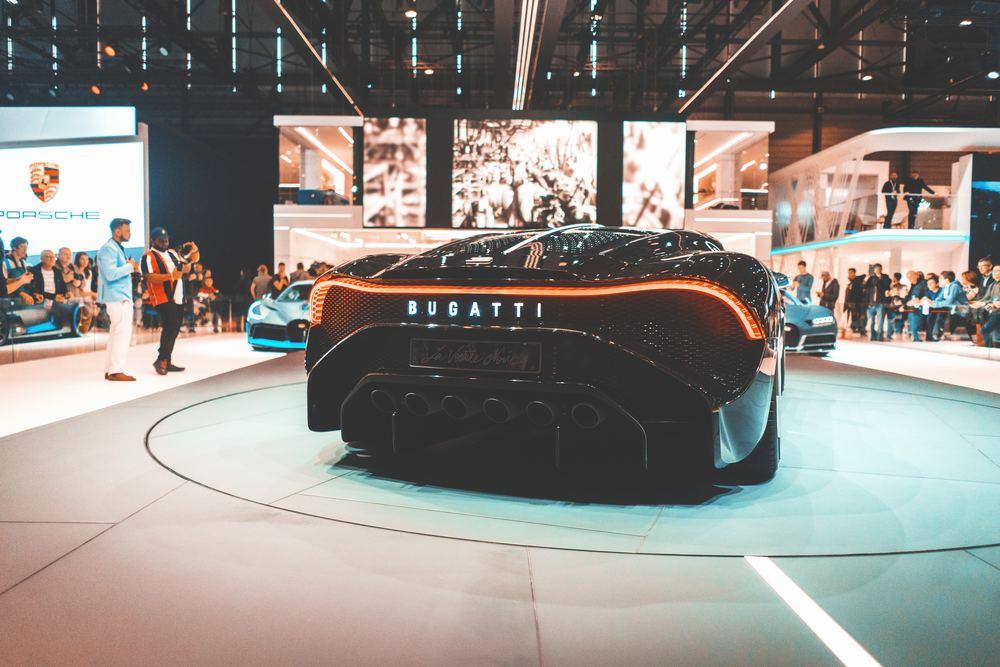 Sportsbilen Bugatti er velkjent blant de aller fleste